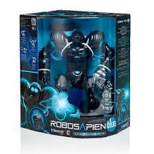 Робот человечек Robosapien Blue WowWee 8015-3