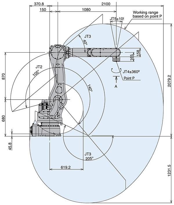 Промышленный робот Kawasaki RD080N-2