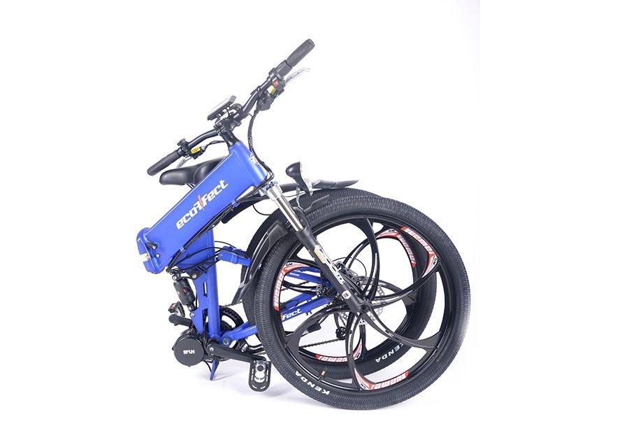 Электровелосипед-Велогибрид ECOFFECT F1 PREMIUM-2