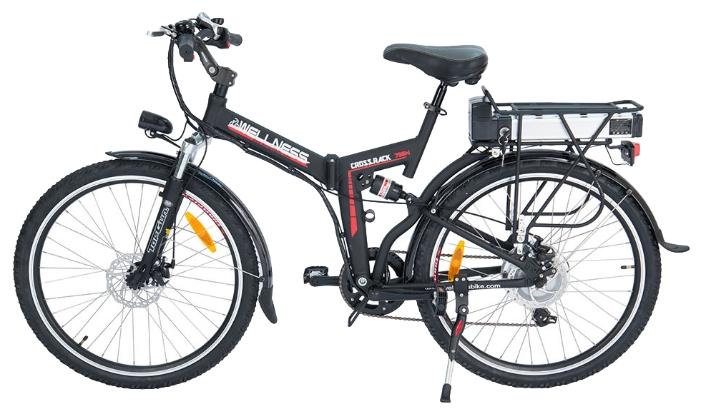Электровелосипед WELLNESS Cross Rack 750-2