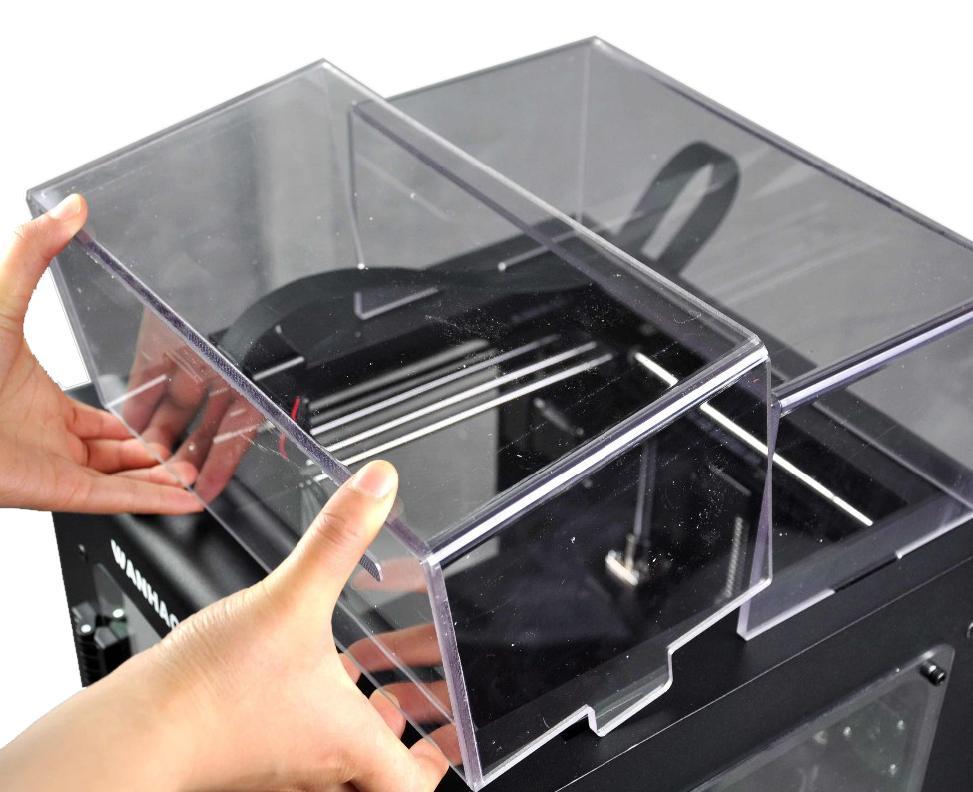 3D принтер Wanhao Duplicator 6 PLUS в корпусе-4