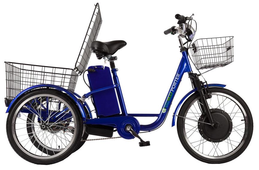 Электровелосипед Eltreco GM Porter-3