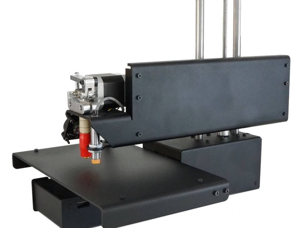 3D Принтер Printrbot Simple Metal Black-2