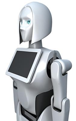 Робот-промоутер Kiki-1