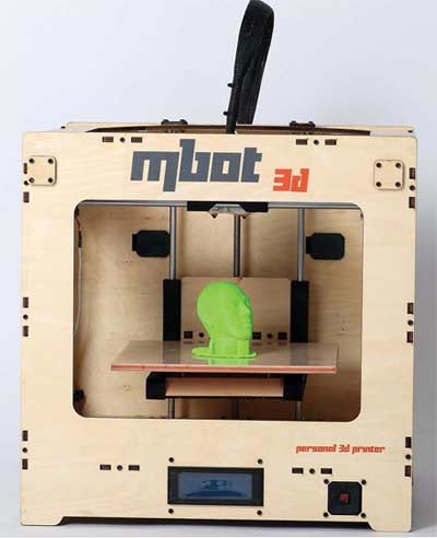 3D принтер MBot Cube Plywood DH-2