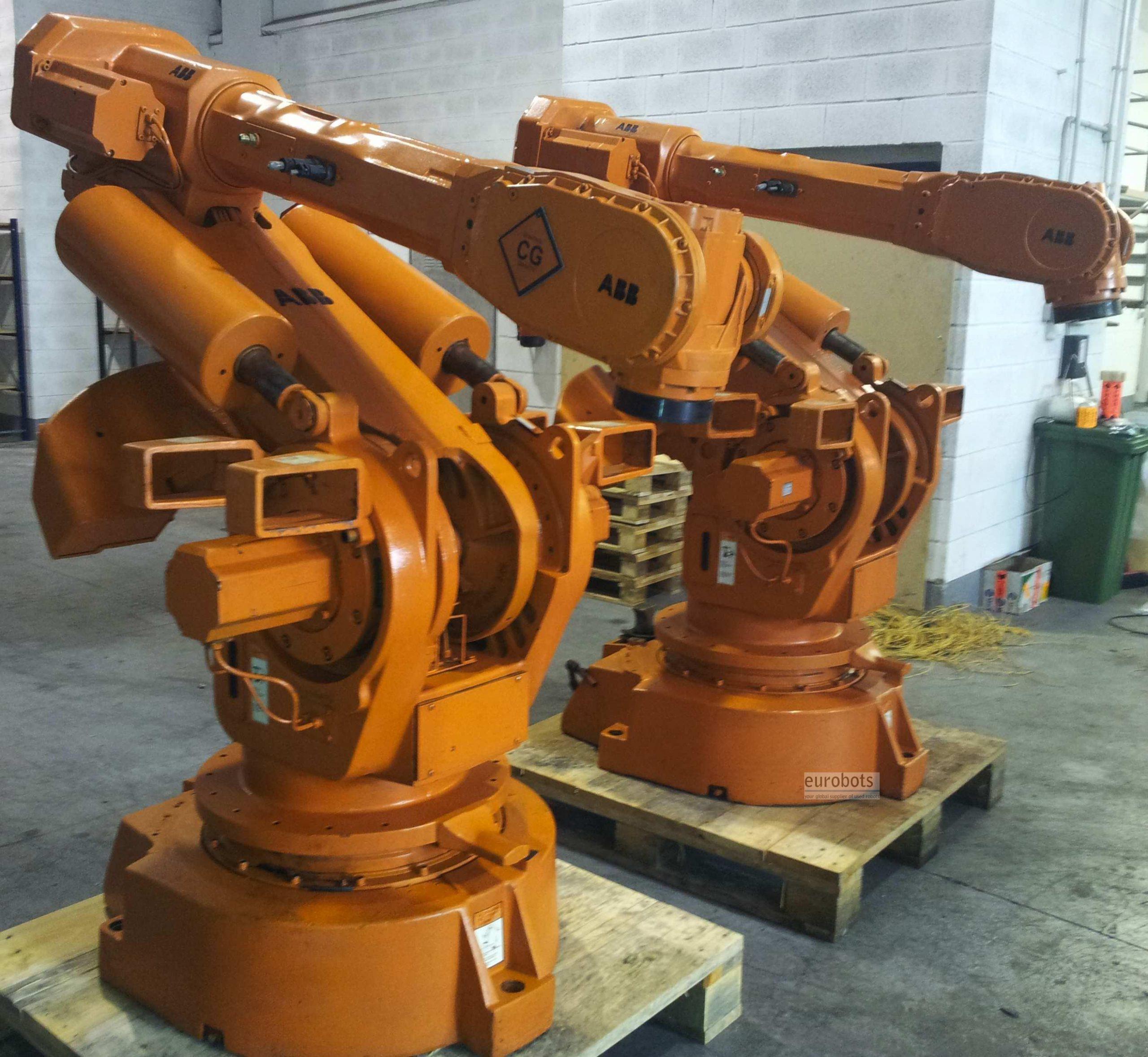 Промышленный робот ABB IRB 6400 2,4-150-3