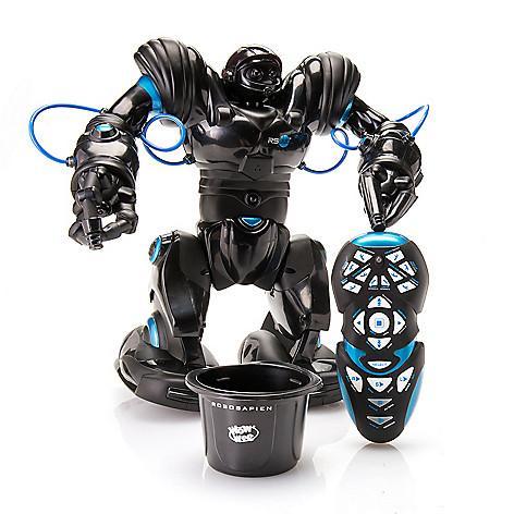 Робот человечек Robosapien Blue WowWee 8015-4