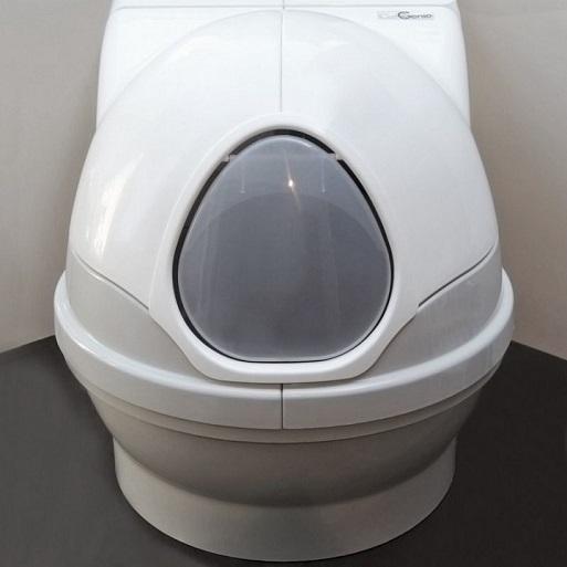 Робот туалет для кошек — CatGenie 120 Full-4