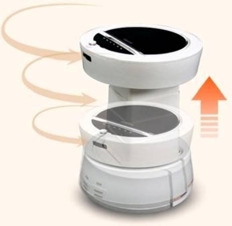 «Умный» робот для очистки  воздуха-1