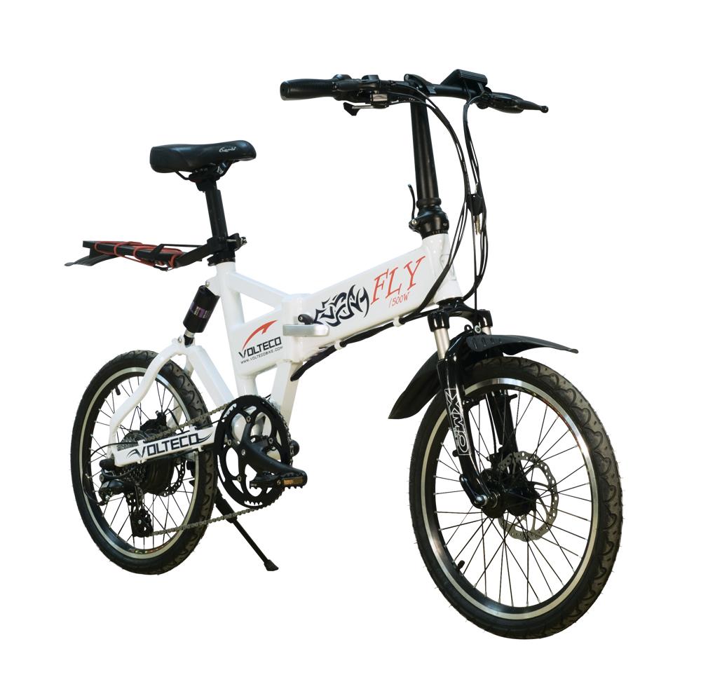 Электровелосипед Volteco Fly 500W-4