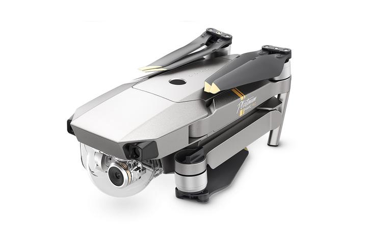 Квадрокоптер DJI Mavic Pro Platinum-3