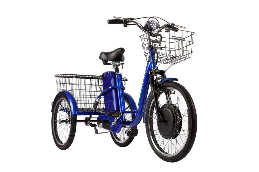 Электровелосипед Eltreco GM Porter-2