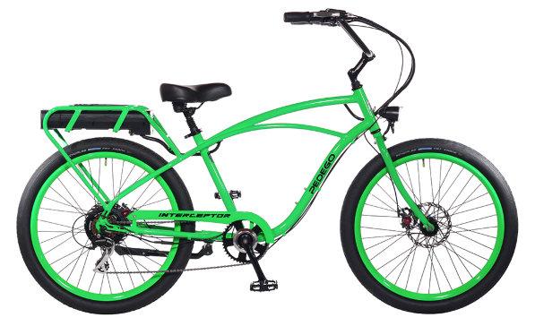 Электровелосипед PEDEGO INTERCEPTOR CLASSIC BLUE-4