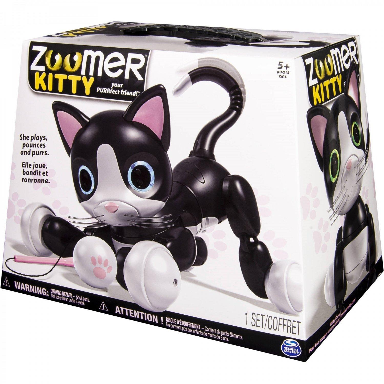 Робот-кошка Zoomer Kitty-3