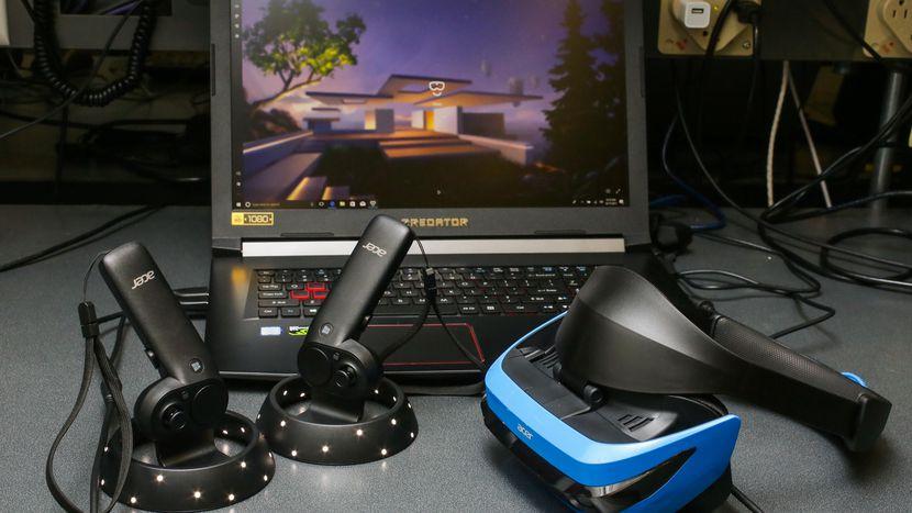 Очки виртуальной реальности Acer Windows Mixed Reality Headset-3