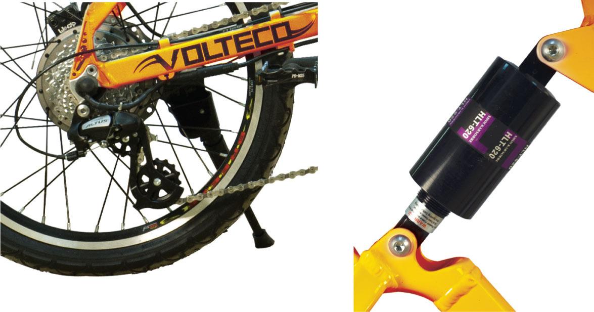 Электровелосипед Volteco Fly Plus 500 (2015)-4