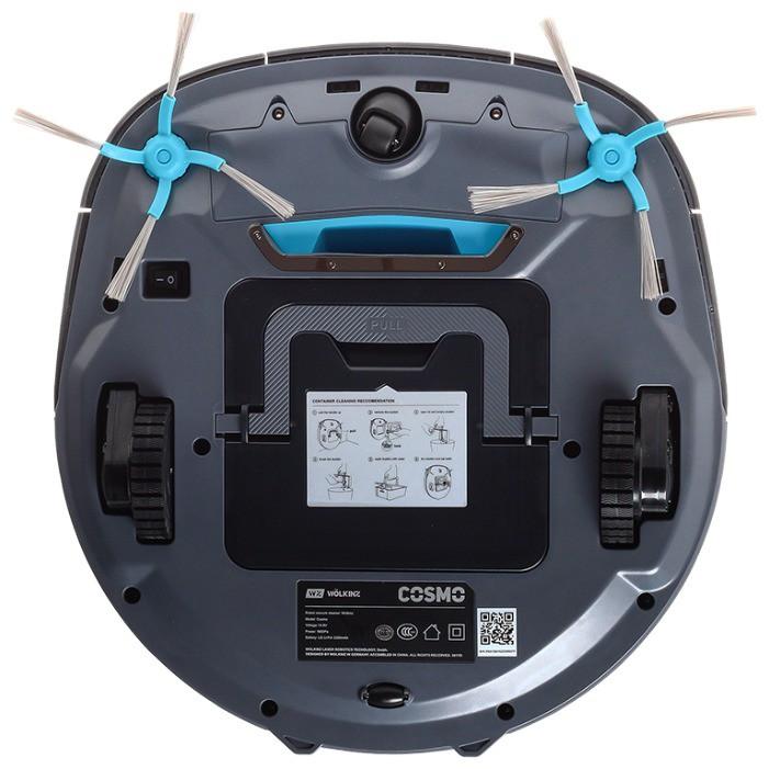 Робот-пылесос Wolkinz COSMO с системой лазерной навигации-3