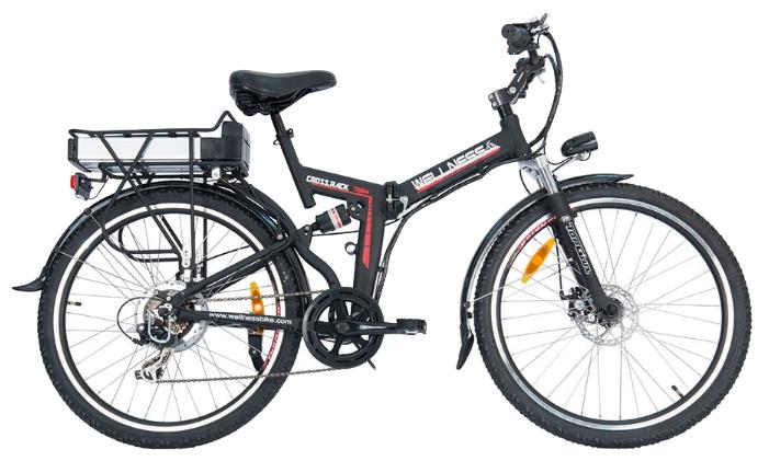Электровелосипед WELLNESS Cross Rack 750-1