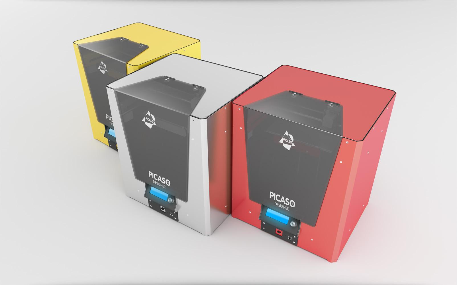 3D принтер Picaso 3D Designer-3
