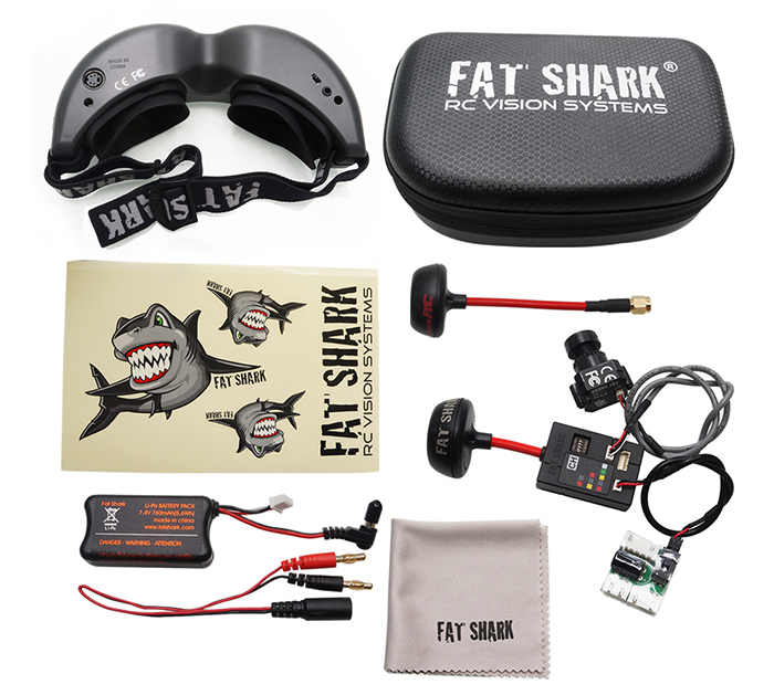 Очки виртуальной реальности Fat Shark Teleporter V5-5