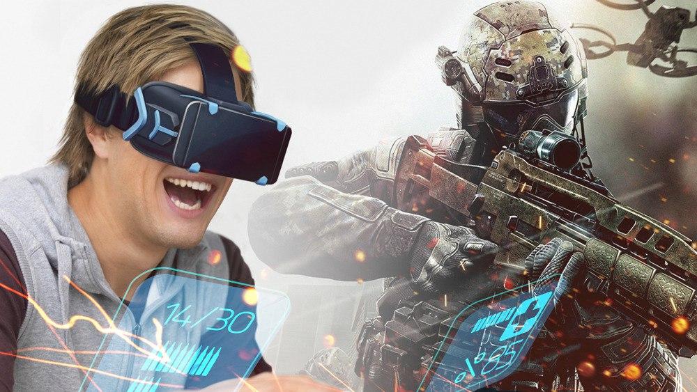 Шлем виртуальной реальности Fibrum-4