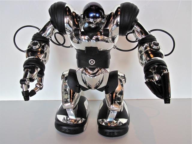 Робот Robosapien (хром)-3