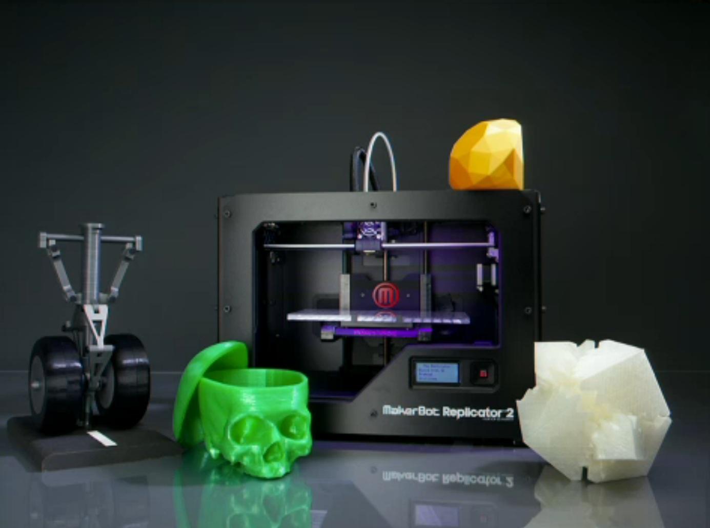 3D принтер MakerBot Replicator 2X-5