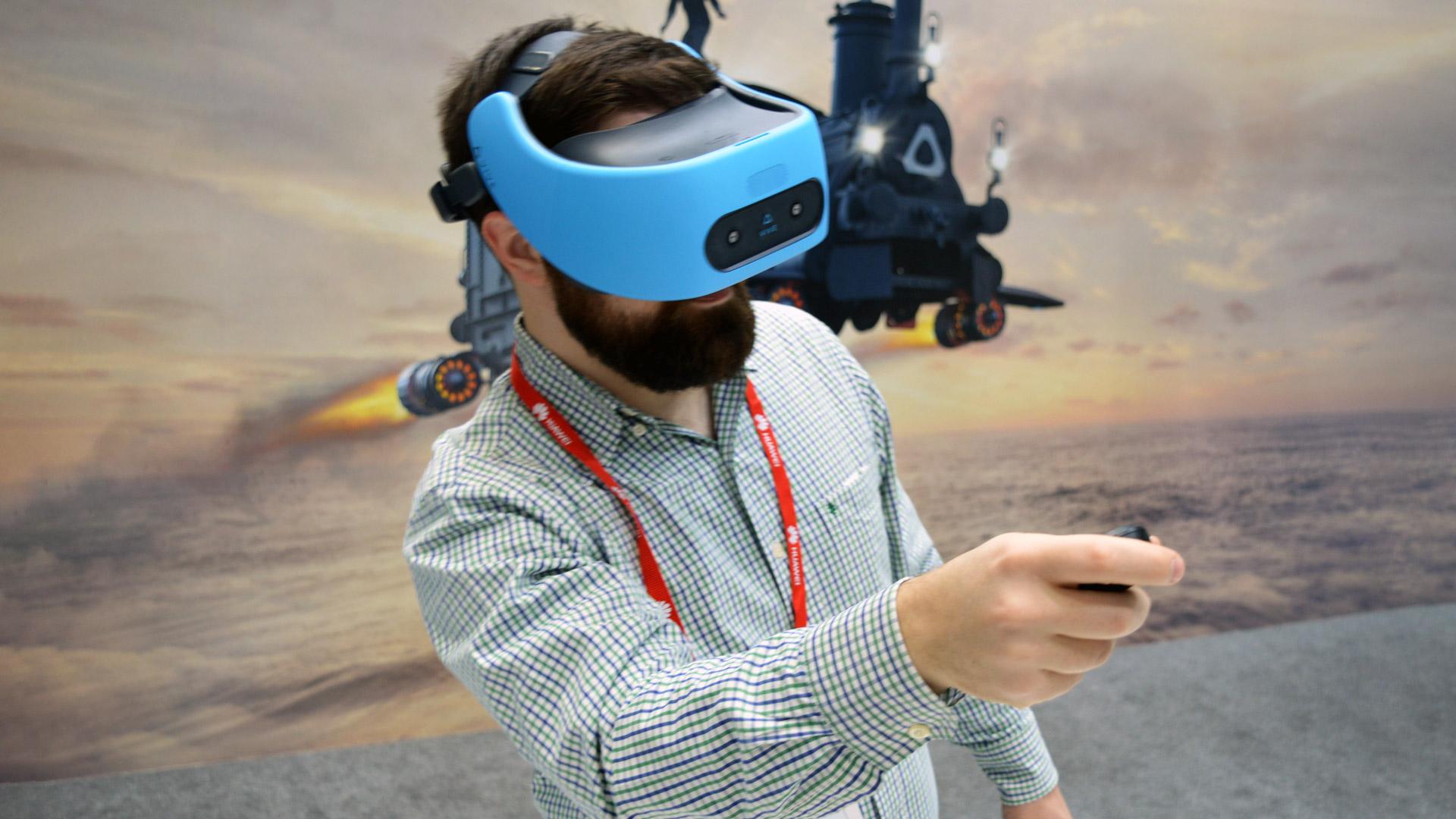 Очки виртуальной реальности HTC Vive Focus-4