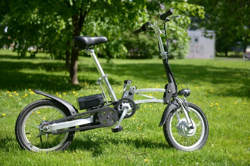 Электровелосипед ECOFFECT Cameo shrinker-4