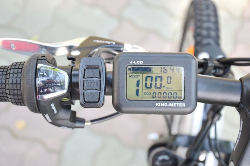 Электровелосипед Eltreco Ultra EX Plus 500W (2013)-3