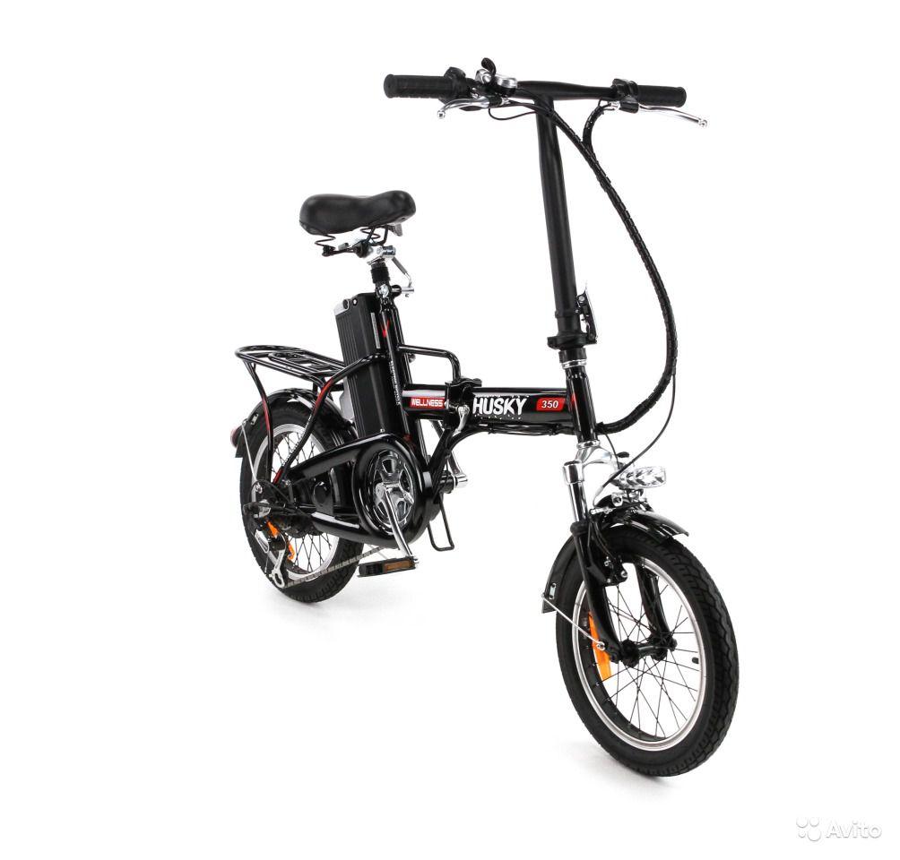 Электровелосипед WELLNESS husky 350-4