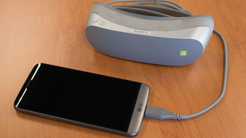 Очки виртуальной реальности LG 360 VR-2