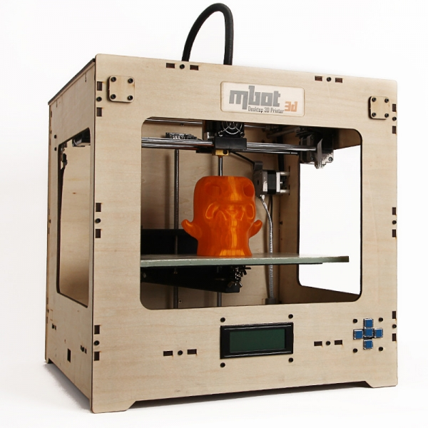 3D принтер MBot Cube Plywood DH-4