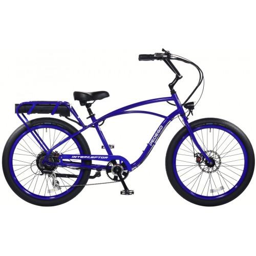 Электровелосипед PEDEGO INTERCEPTOR CLASSIC BLUE-1
