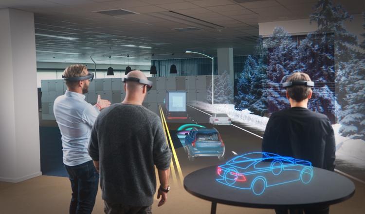 Очки виртуальной реальности Microsoft Hololens-2