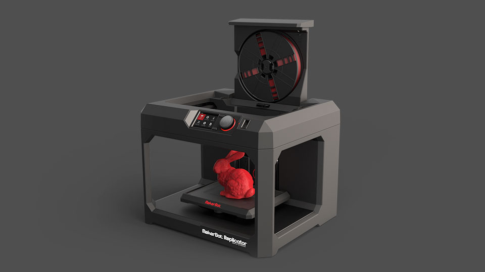 3D принтер MakerBot Replicator-3