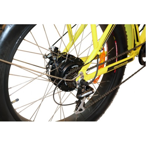Электровелосипед VOLTECO BIGCAT DUAL YELLOW-5