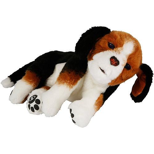Интерактивный спящий щенок Бигль-2