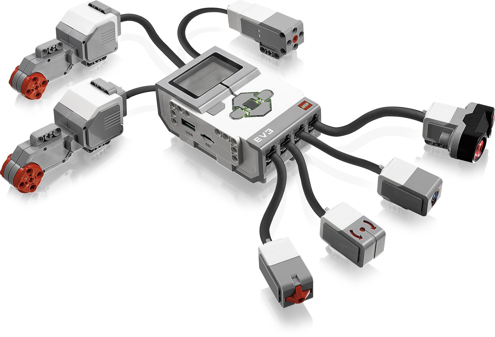 Lego перворобот NXT базовый набор-1