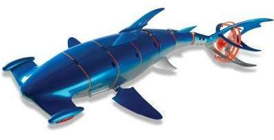 Плавающий робот акула-молот д/у-1