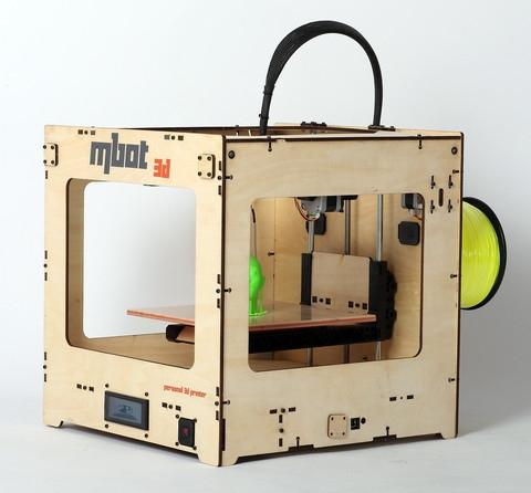 3D принтер MBot Cube Plywood DH-7