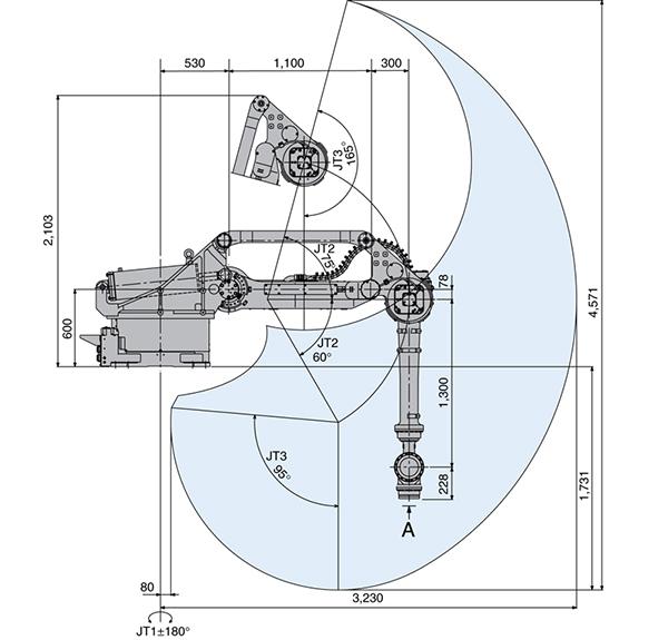 Промышленный робот Kawasaki ZT130U-2