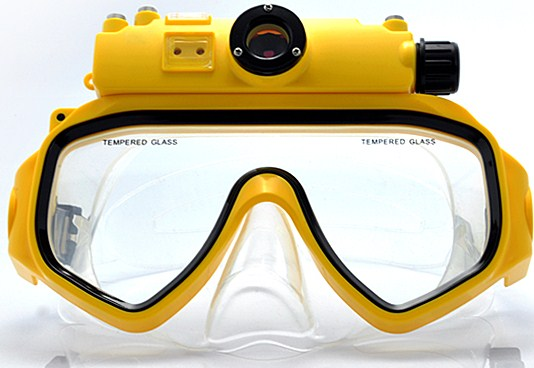 Плавательная маска с цифровой камерой-2
