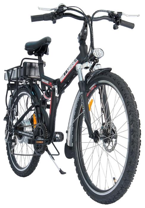 Электровелосипед WELLNESS Cross Rack 750-3