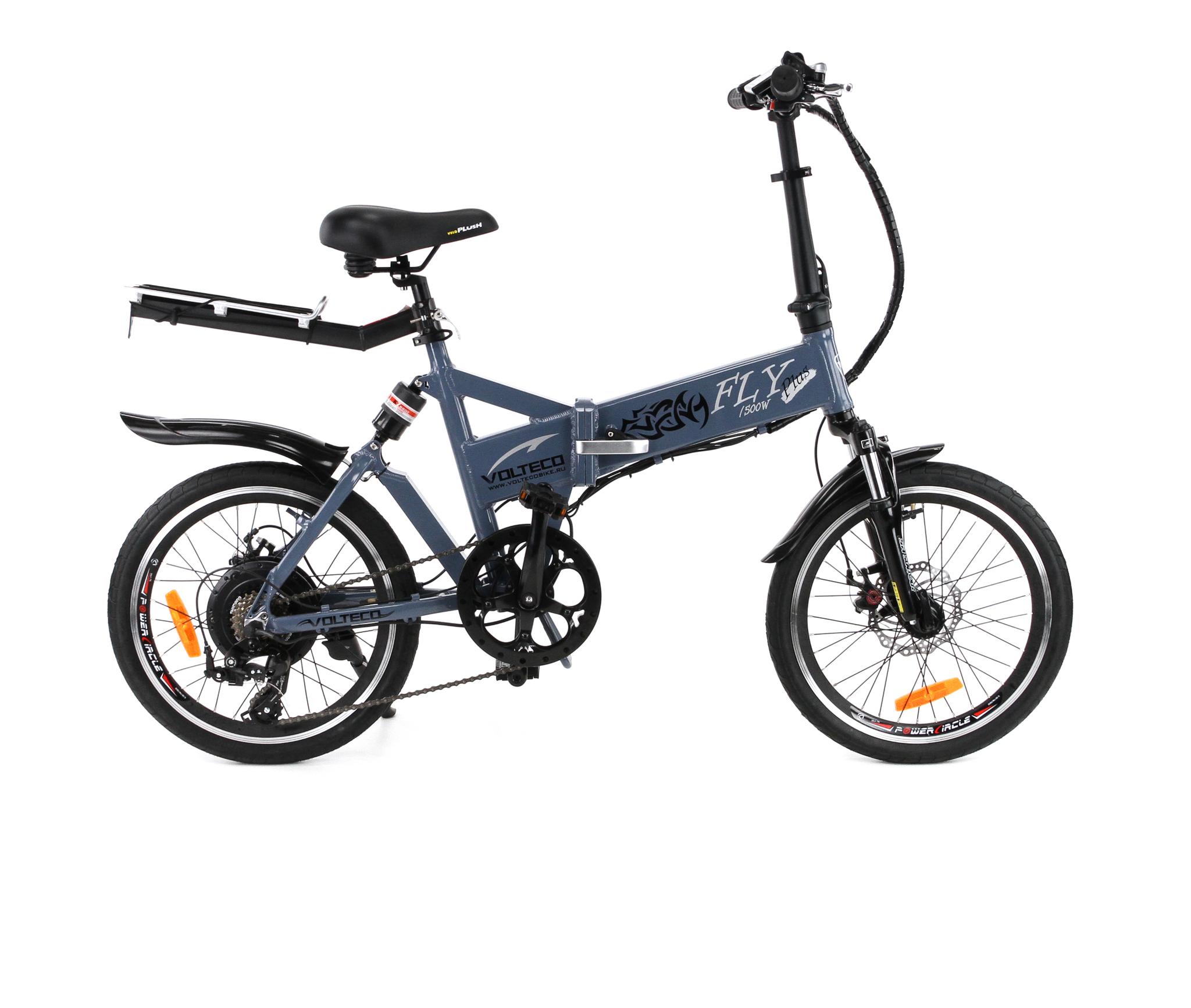 Электровелосипед Volteco Fly Plus 500 (2015)-1