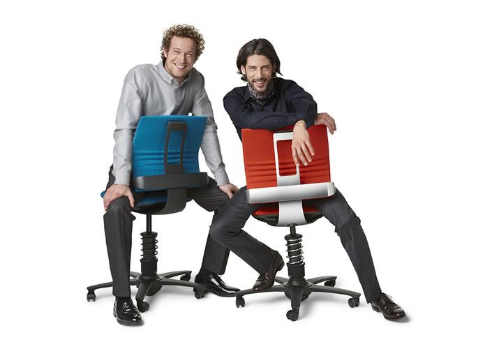 Компьютерное кресло эргономичное «Jobstick 3Dee»-8