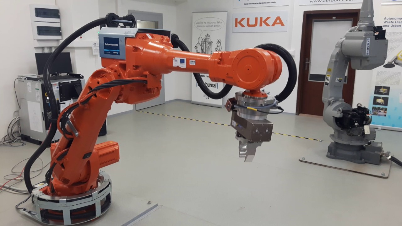 Промышленный робот ABB IRB 4600 45/2,05m-2