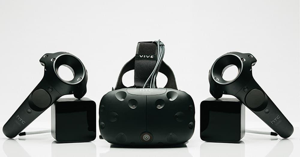 Очки виртуальной реальности HTC Vive-2