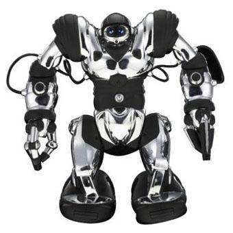 Робот Robosapien (хром)-1