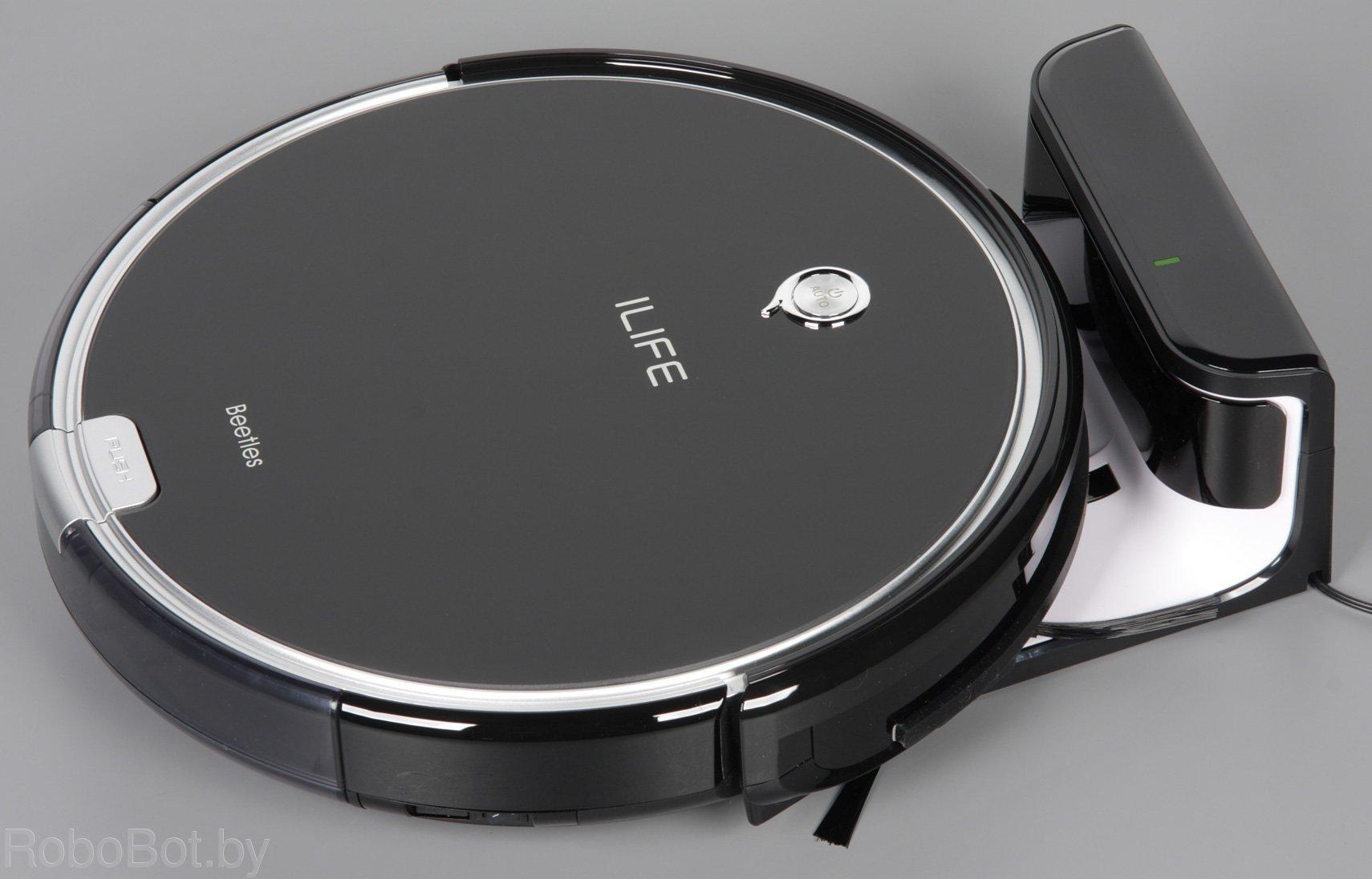 Робот пылесос iLife A6-1